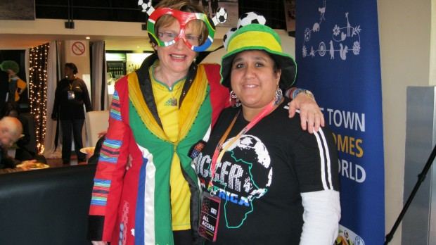 Helen Zille at the Fanjol Athlone